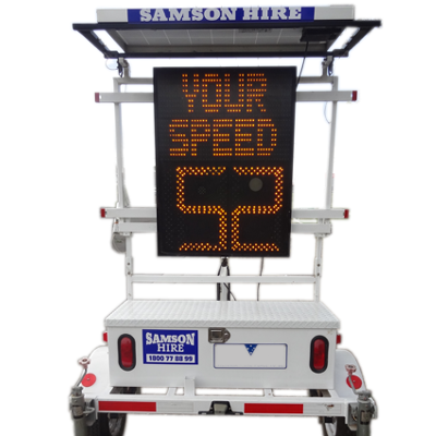 Speed Display Sign